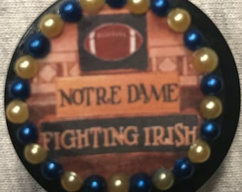 University of Notre Dame Fighting Irish Retractable Badge/ID Holder