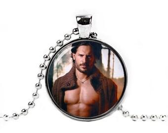 Joe Manganiello Necklace Alcide Herveaux Pendant Werewolf True Blood Jewelry Fandom Jewelry