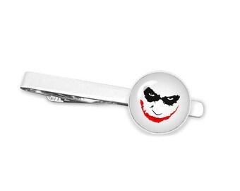 Cufflink or 2 Piece Set Harley Quinn Tie Clip