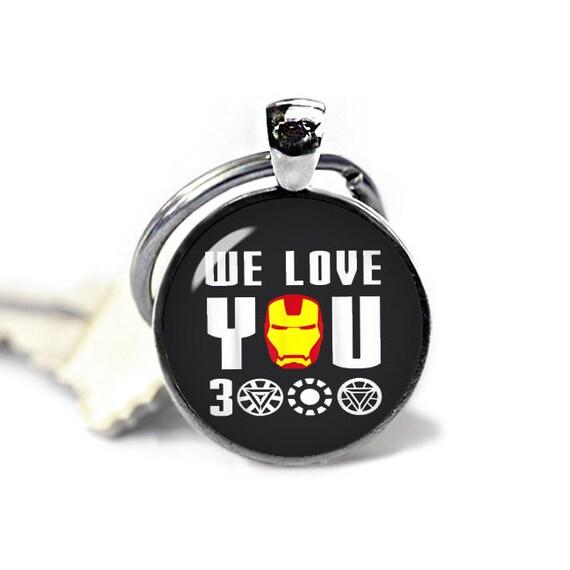 I Love You 3000 Porte-cl/és Iron Man pour Homme