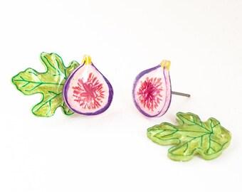Fruit + Veggie Earrings