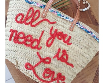 "Basket ""all you need is Love"""