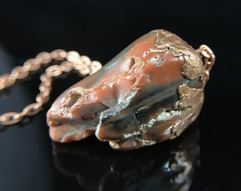 Petrified Wood and Copper
