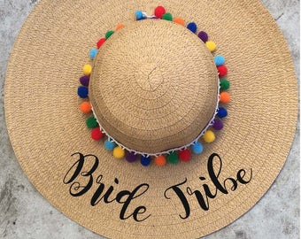 Floppy Hat Embroidered