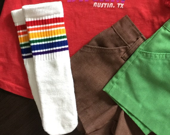 Baby and Toddler Vintage Tube Socks (Pride Socks)