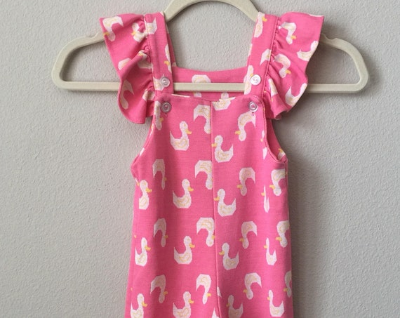 vintage toddler sunsuit overalls