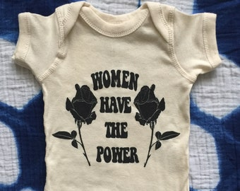 Women Have the Power - Baby Romper (Sugarface)
