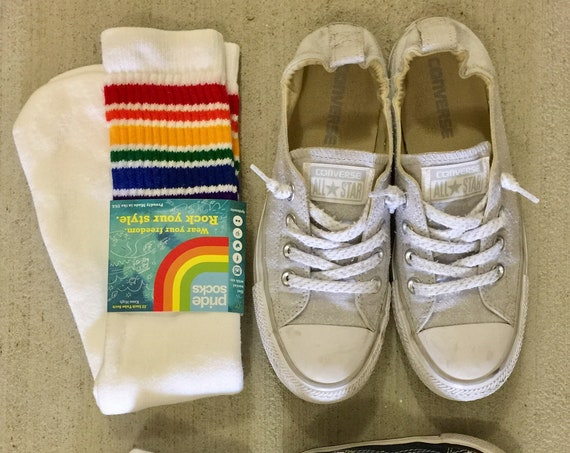 Adult Vintage Tube Socks (Pride Socks)