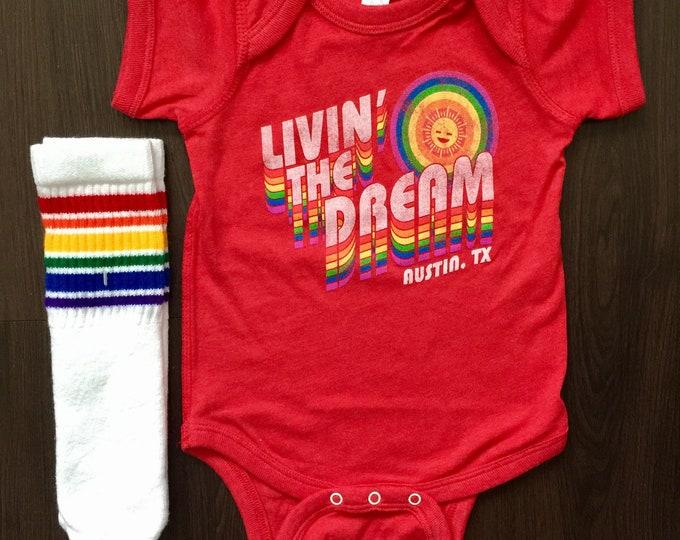Livin' the Dream - Austin Baby One Piece