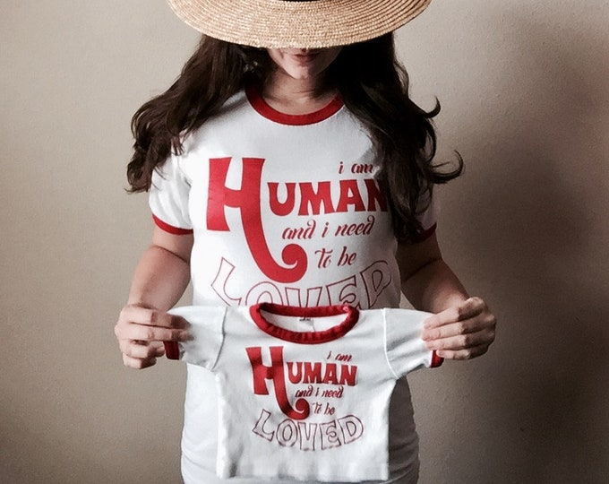 I Am Human Baby T-Shirt