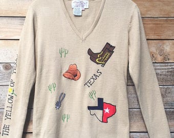 vintage Texas sweater