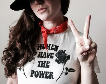 Women Have the Power T-Shirt (Sugarface)
