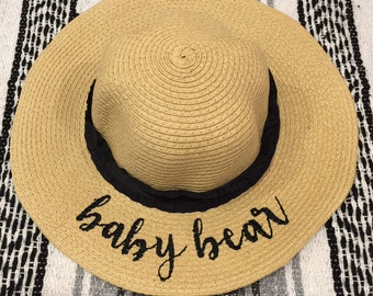 Baby Bear girls hat