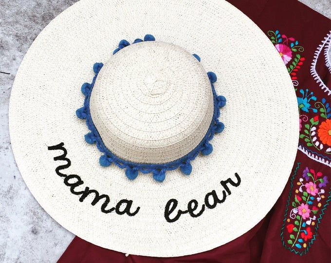 Floppy Hat - Embroidered