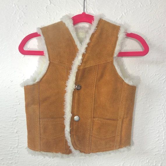 vintage kids vest