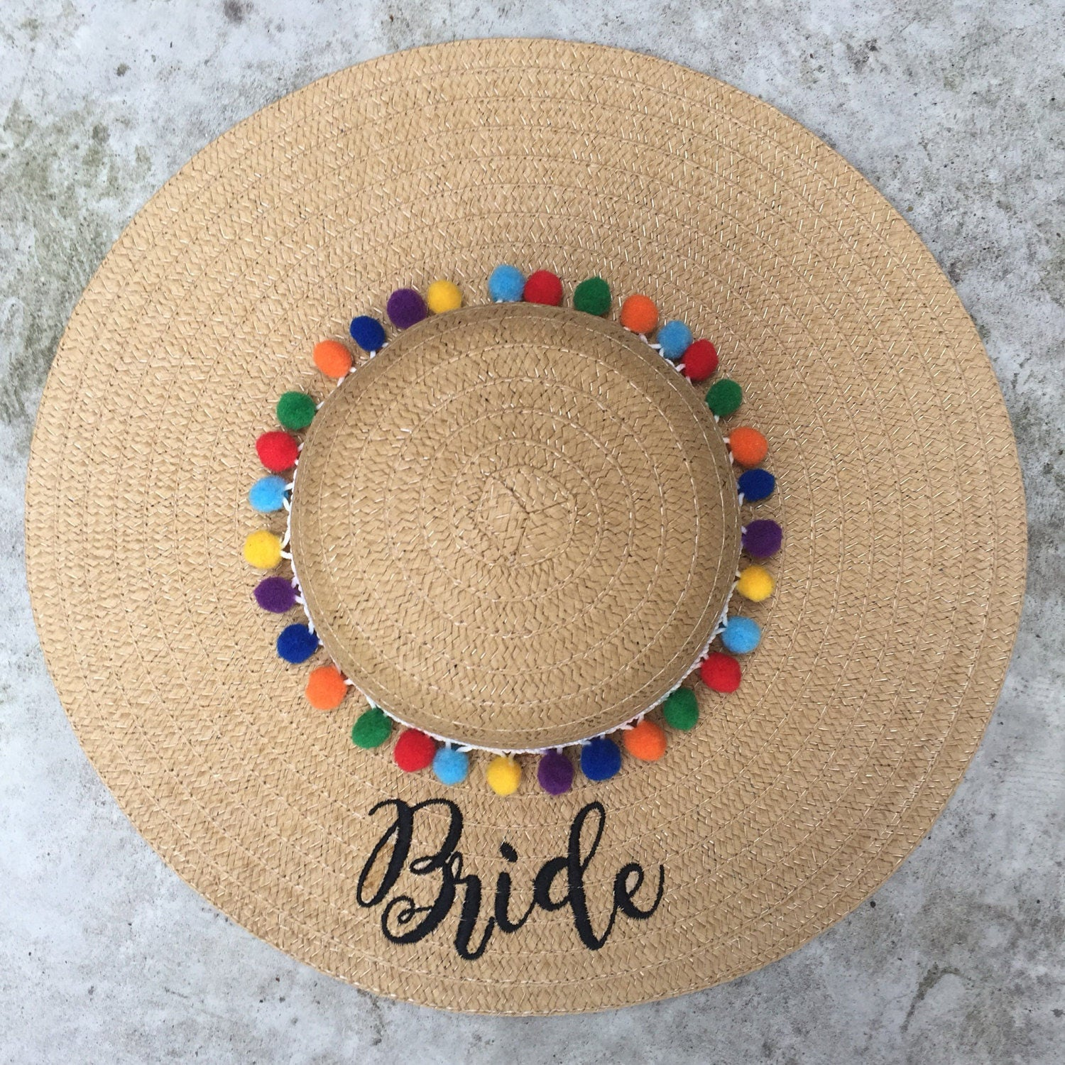 Floppy Hat Embroidered Beach Hat 6ef0d4f8668