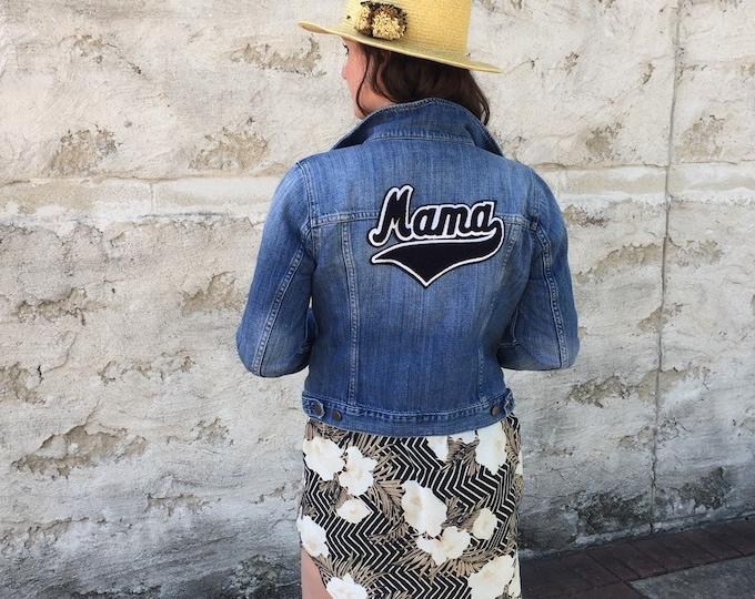 Featured listing image: Mama denim jacket