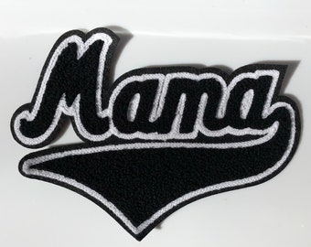 Mama chenille patch