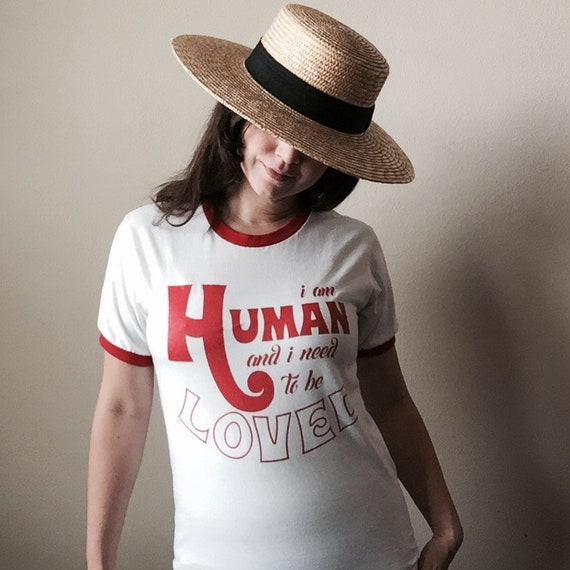 I Am Human T-Shirt (Baby Teith)