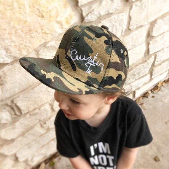 kids austin cap