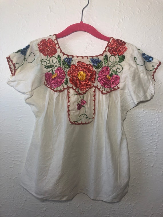girls vintage top