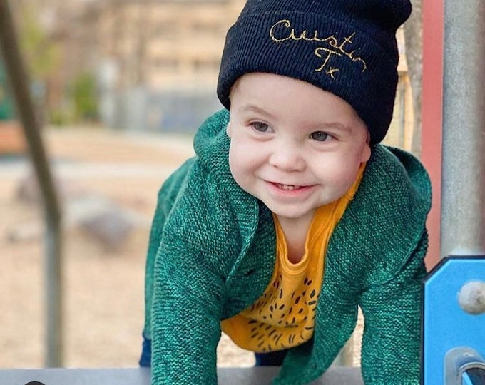 Featured listing image: custom kids beanie