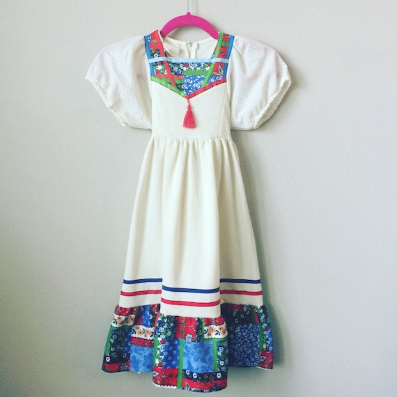 vintage toddler maxi dress