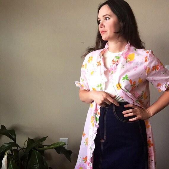 vintage maxi kimono