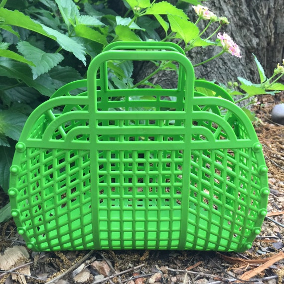 green jelly purse