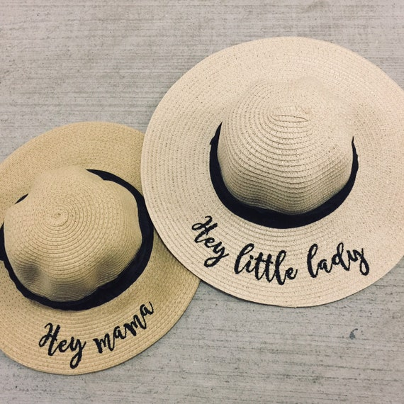 Mama and Mini Hat Set