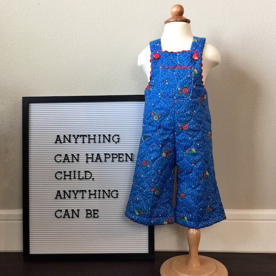 vintage baby overalls