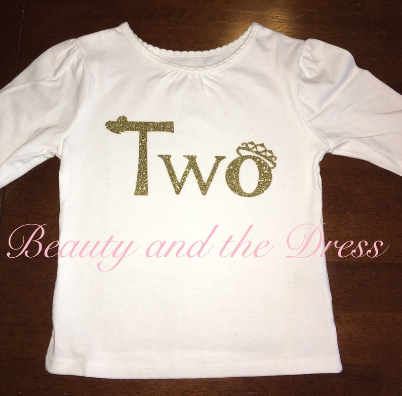 Two Shirt Second Birthday Tee Toddler