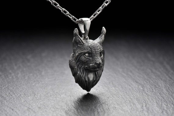 Maine Coon pendant Silver pendant cat Gift for cat lovers