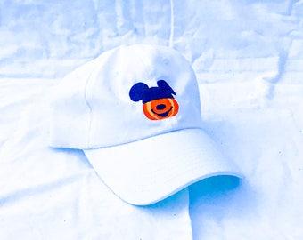 5f4743b2043 Mickey Pumpkin Dad Hat