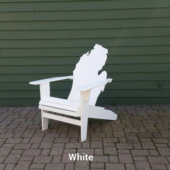 Pleasant Michigan Adirondack Chair White Poly Lumber Bralicious Painted Fabric Chair Ideas Braliciousco