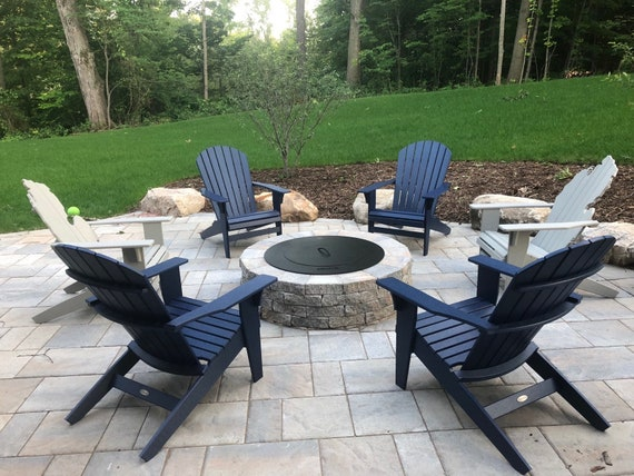 Remarkable Michigan Adirondack Chair White Poly Lumber Bralicious Painted Fabric Chair Ideas Braliciousco