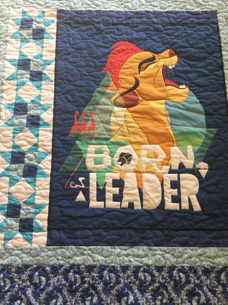 Born Leader Panel Quilt Lion Guard Quilt