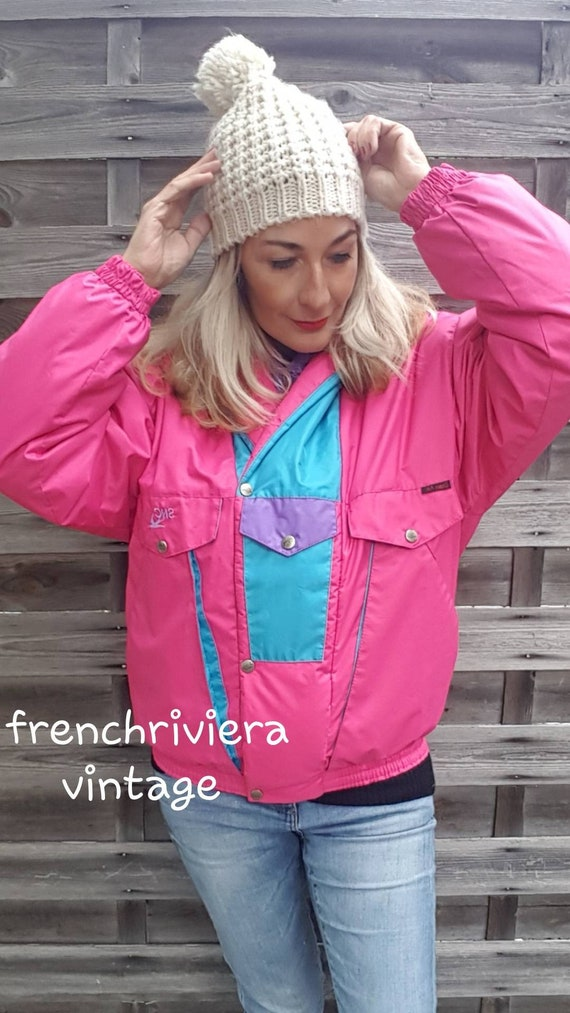Vintage jacket rise vintage ski jacket vintage jac