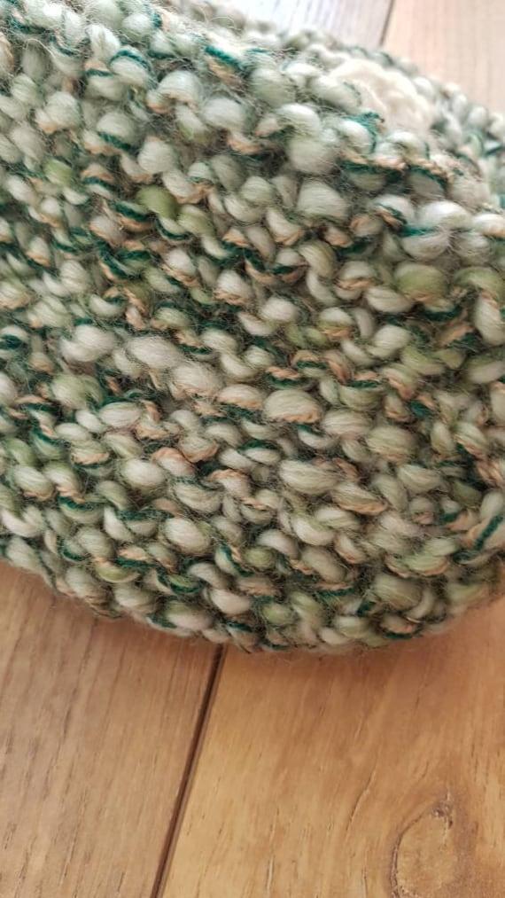 Slippers wool slippers vintage wool slippers hand… - image 9