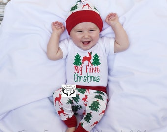 dc26f63cd402 Baby Girl Christmas Outfit