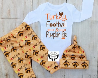 3bdabd1e6 Baby Thanksgiving Outfit,Boys Thanksgiving,Turkeys,Boys Coming Home Outfit,My  First Thanksgiving,Fall Outfits,Orange,Brown,Cream,leggings