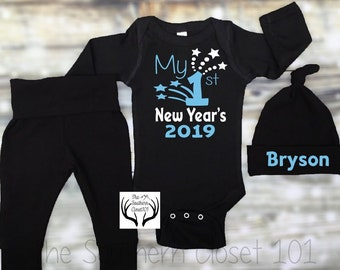 e06ae334ecc4 Unisex Boys New Years OutfitMy First New Year s