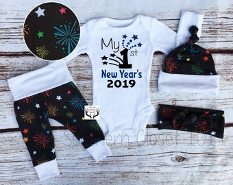 ae6c77a79 Boy Coming Home Outfit,Unisex,My First New Year's 2019,Fireworks,Baby New  Year's Outfit, 2019 Outfits,Newborn Outfit,Baby Boy,Boys New Years