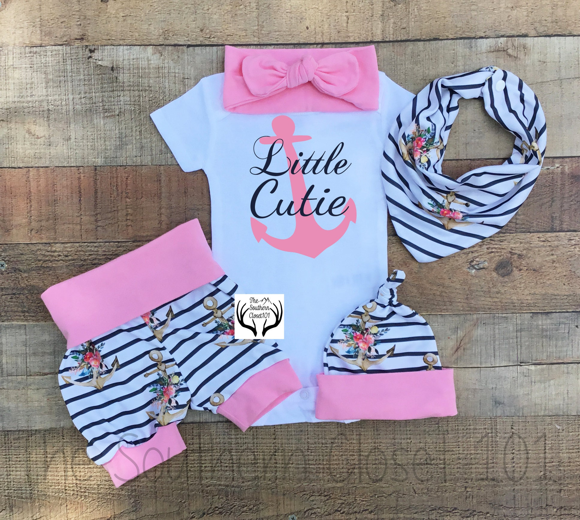 c8effb03340d Newborn Coming Home Outfit Baby Coming Home outfitLittle