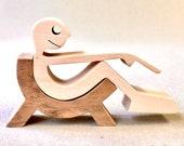 relax max sculpture bois chantournée