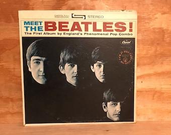 Meet The Beatles! LP Vinyl Album