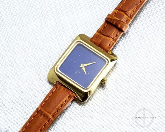 Gold Lapis Lazuli Watch   Lapis Lazuli Watch Dial