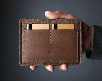 Passport Wallet,Travel Wallet,Passport Case,Passport Cover,Passport Holder,Travel Accessories,Leather Wallet,Leather,Wool Felt,Brown