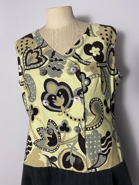 1960s Romper/Scooter Dress VOLUP - image 3