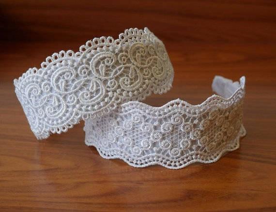 lace crown adult wedding crown white bridal crown lace crown etsy. Black Bedroom Furniture Sets. Home Design Ideas